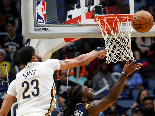 Let Us Now Have Our Brains Melted By Anthony Davis