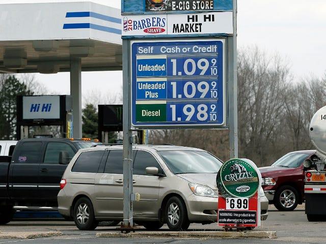 Gaz Fiyatları Düşmeye Devam Ediyor