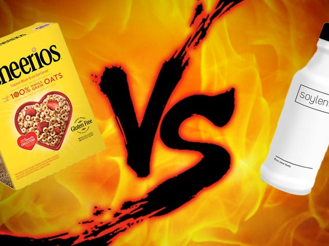 Sunday Showdown: Soylent vs. Cheerios
