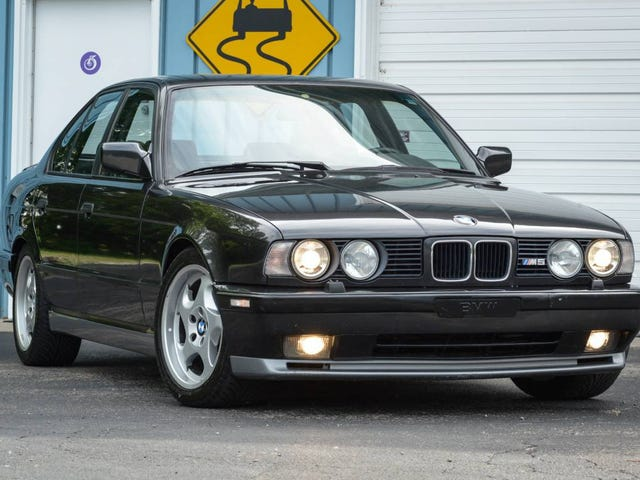 I'll Tell You What You Need: You Need This Manual V12-Swapped BMW E34 M5