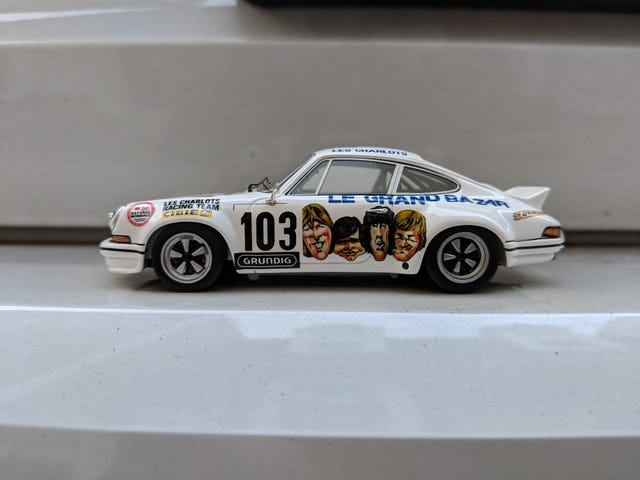 """1973 Porsche 911 RS 2.7 """"Le Grand Bazar"""""""