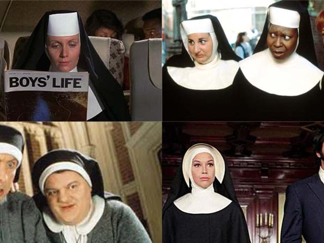 Breaking the habit: A dozen-plus unconventional movie nuns