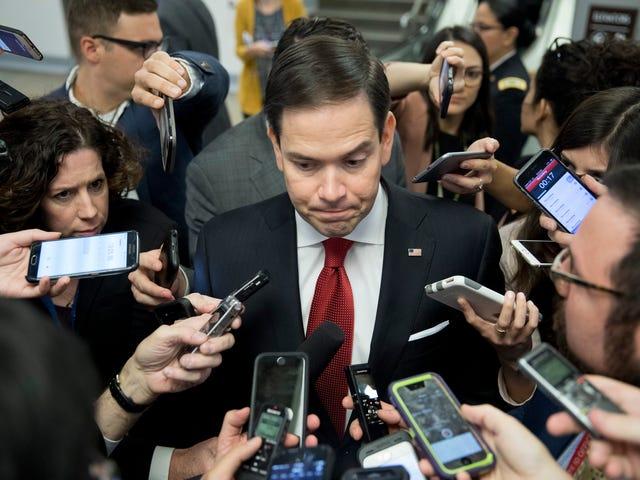 Senator Marco Rubio Is Salty at Salt Bae