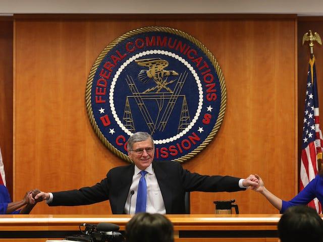 FCC läpäisee voimakkaimmat nettomääräisyyden säännöt Amerikan historiassa
