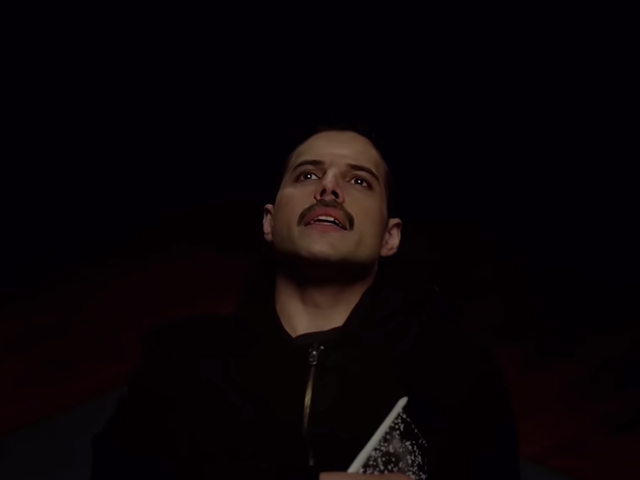Watch a Freddie Mercury-faced Rami Malek pontificate about God in this mangled Mr. Robot clip