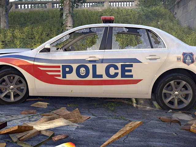 The Division 2 Developers Challenge Players To Find Misspelled Police Car