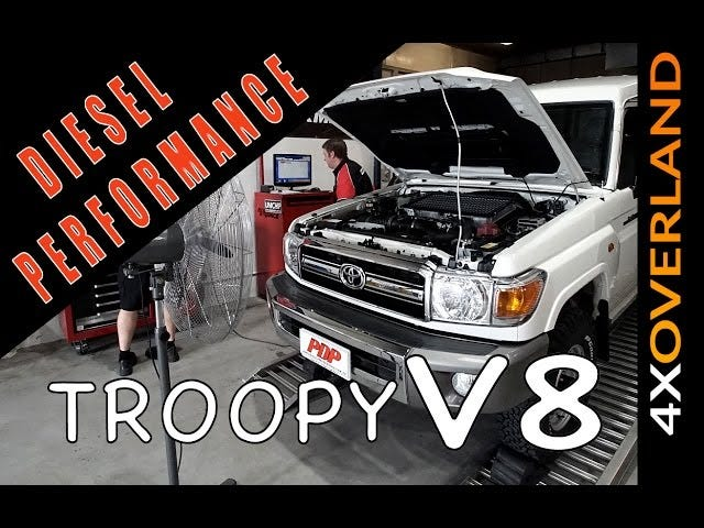 4xOverland gets the Toyota 1VD-FTV tuned up...