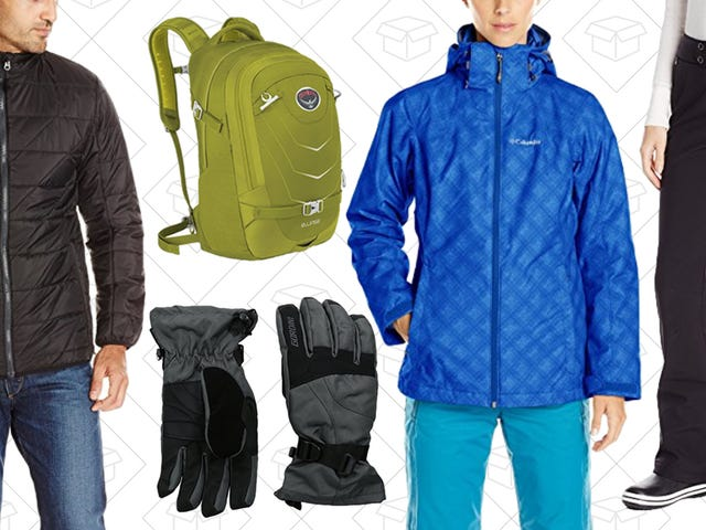 Gear Up For Winter Activities With Amazon's One-Day Sale on Everything For the Cold