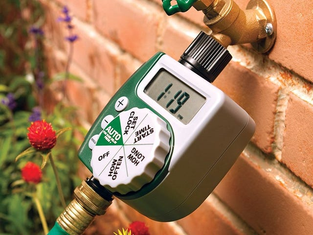 Program Your Hose With This $19 Faucet Timer