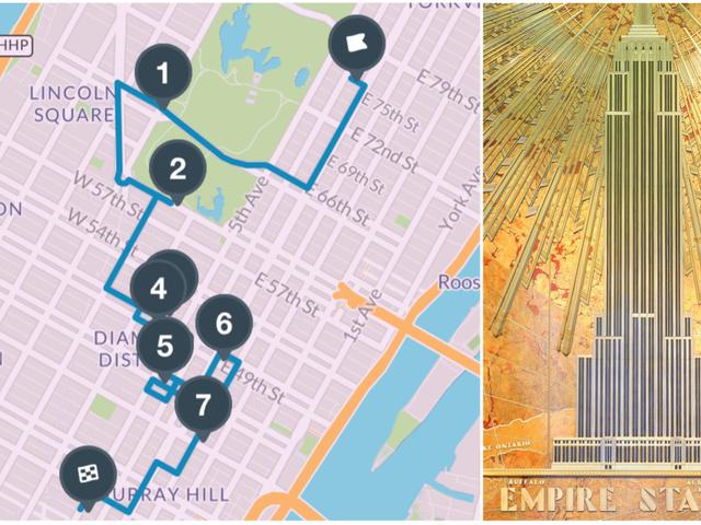 मैनहट्टन के सबसे प्रतिष्ठित आर्ट डेको रत्नों के लिए एक चलने की मार्गदर्शिका