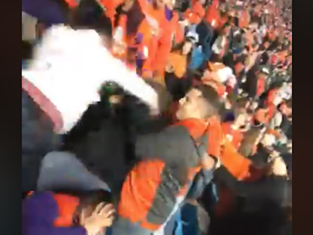 Miami And Clemson Fans Body Slam Each Other To Hell In Gory Brawl