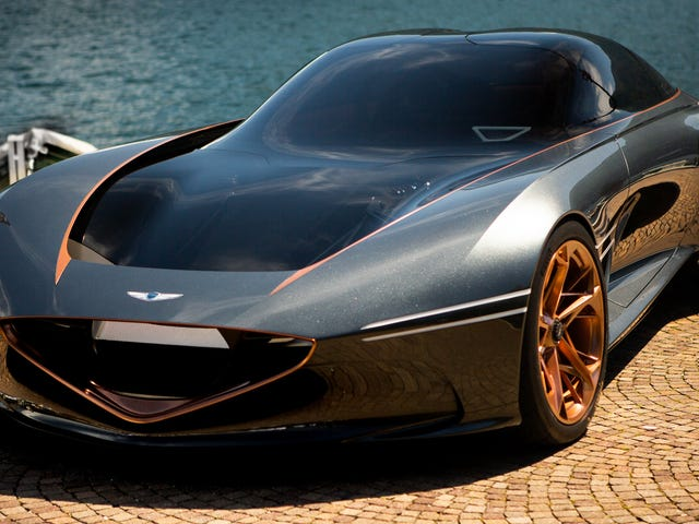 Genesis Is Thinking About Building The Gorgeous Essentia GT Concept