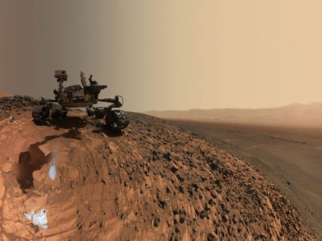 NASA's Curiosity Rover Just Took a Step Towards Autonomy