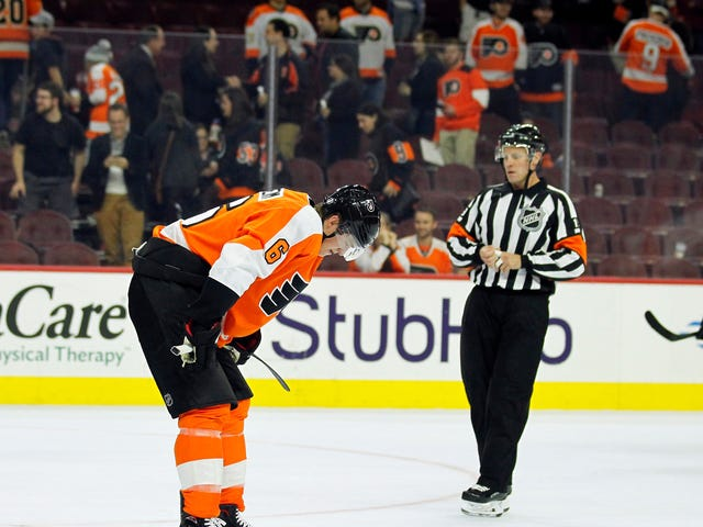 The Flyers' Home Opener Went So Badly, They're Swearing