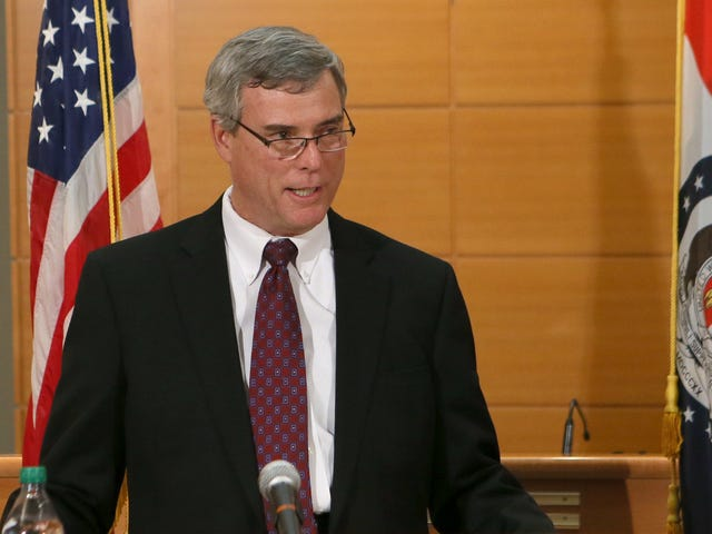 Failed Ferguson, Mo., Prosecutor Bob McCulloch Headlined a Conference for District Attorneys. It Did Not Go Well