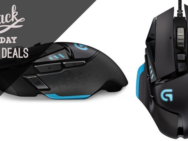 This 12,000 DPI Logitech Gaming Mouse Comes With a $50 Steam Gift Card