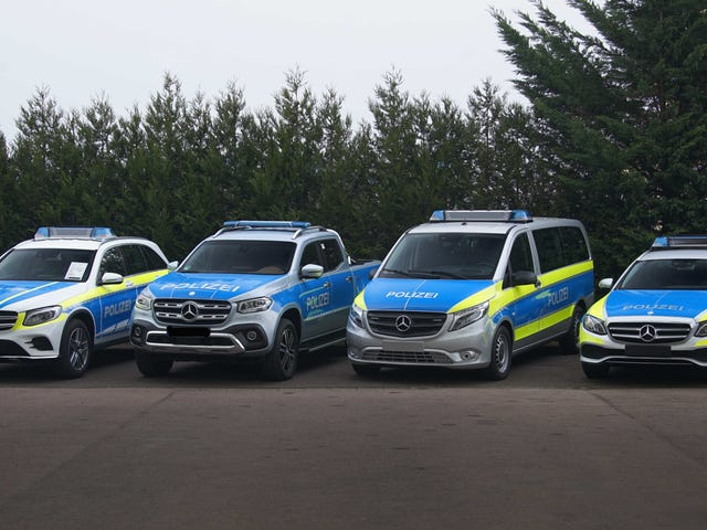 Here Are The New Proposed European Police Vehicles From Mercedes