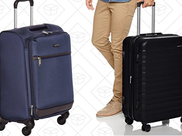These AmazonBasics Spinner Suitcases Are On Sale In Time For Holiday Travel