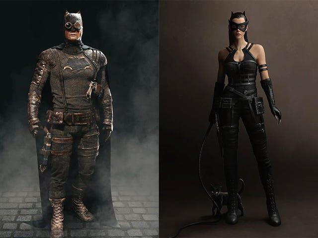 Kamu Olde Batman & Catwoman