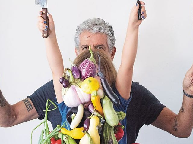 Anthony Bourdain cooks for his harshest critic: his daughter