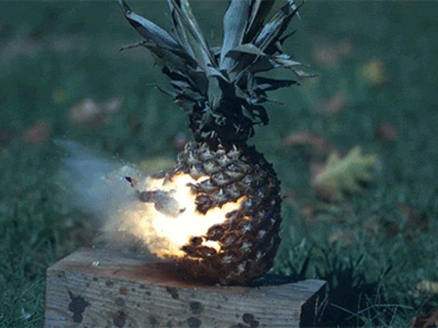 Blowing Up Fruits and Vegetables in Slow Motion Is Good Clean Fun