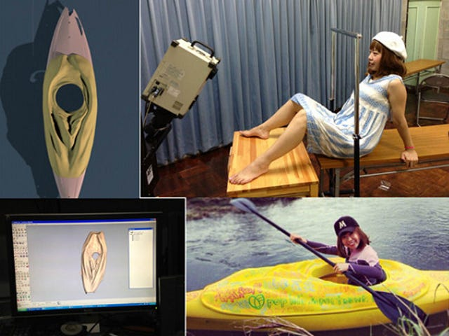 Cool Japanese Artist Makes Labia Kayak With A 3D Printer, Gets Arrested