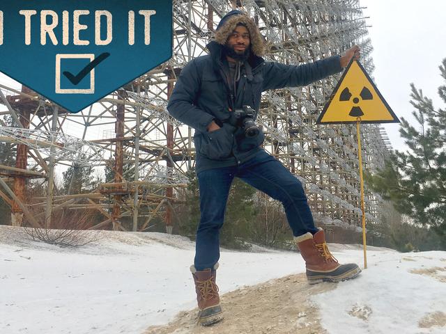 Jeg Toured En af de mest radioaktive steder på jorden
