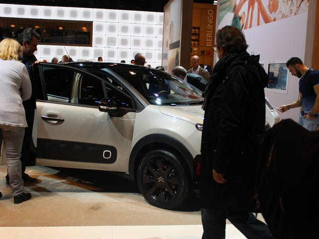 Paris auto show photodump