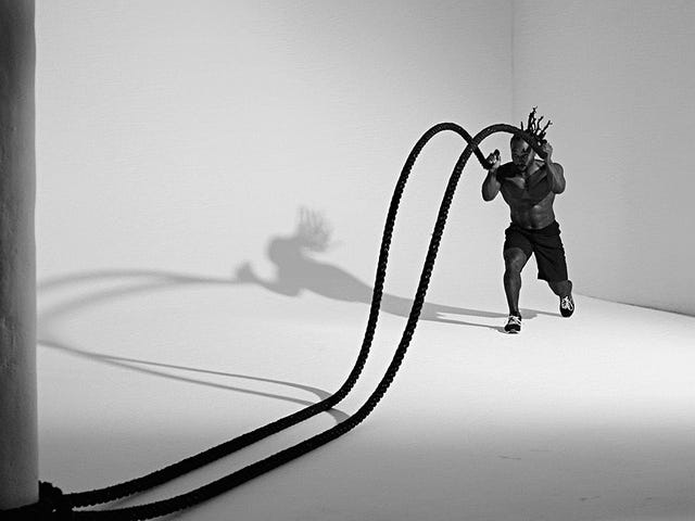 Gymlopnik- Battle Ropes are the shit!
