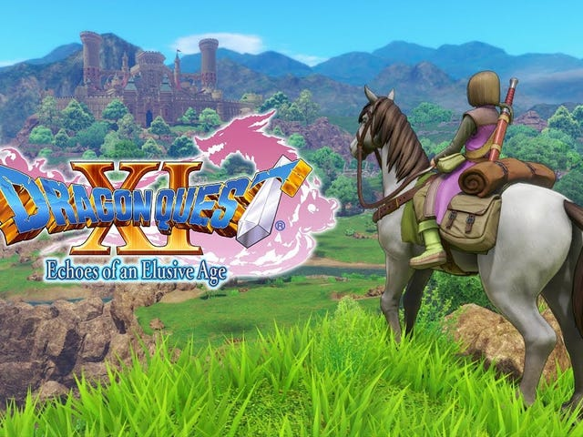Dragon Quest XI: Echoes of an Elusive Age will be out September 4 on PS4 and PC