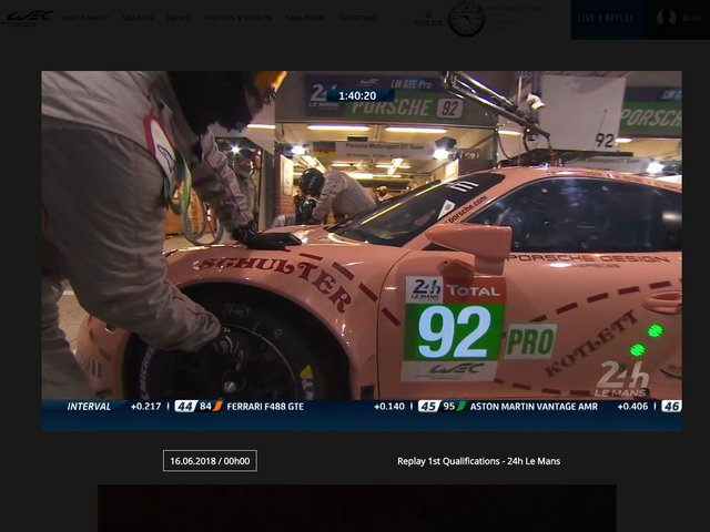 Screw you, FIA! I'm streaming your official Le Mans coverage in the U.S. whether you want me to or not.