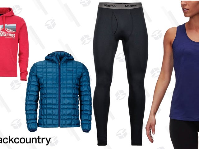 Backcountry Is Taking Up to 25% Off All The Marmot Gear You Could Need