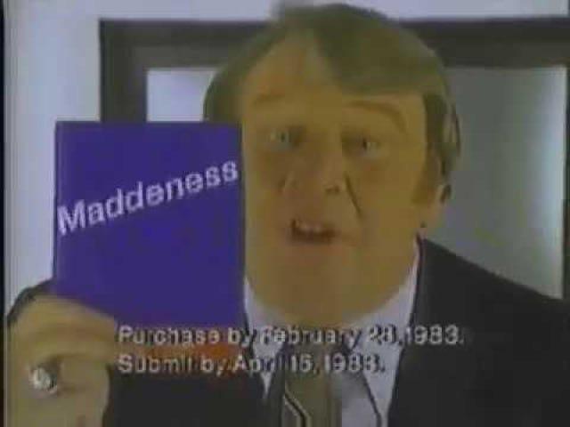 "Late TAY Retro: ? | ""Maddeness"" | TV Commercial (NA)"
