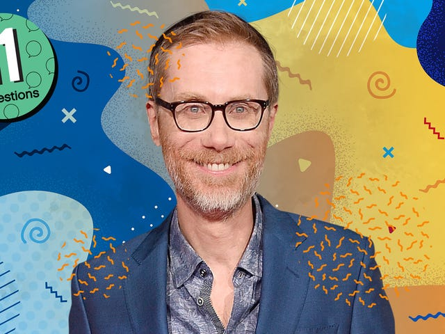 Most of Stephen Merchant's survival skills involve being tall