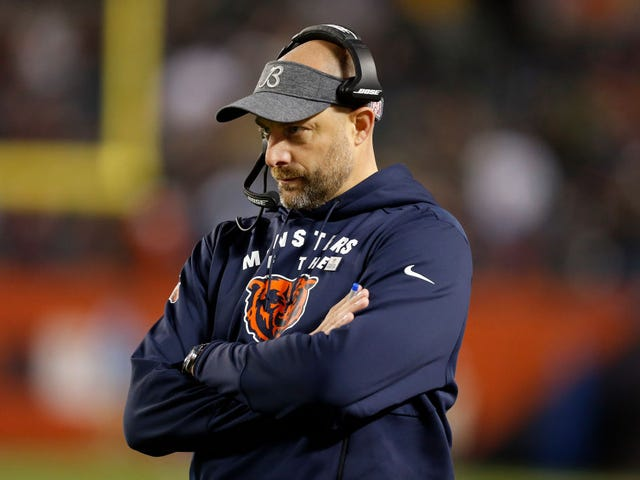 Matt Nagy Kind Of Did It To Himself This Time
