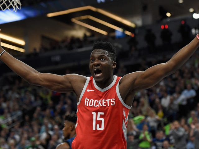 Clint Capela Is Getting Squeezed On All Sides This Summer