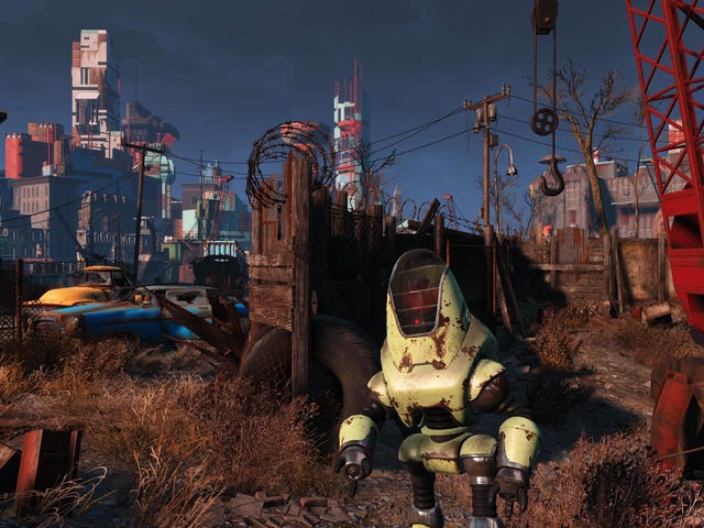 Fallout 4's 55 GB Hi-Res Texture Pack Doesn't Make A Huge Difference, But It's Nice