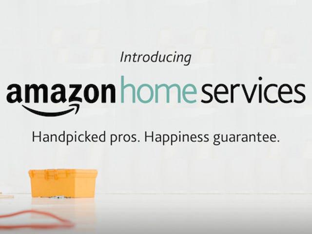 Amazon dipasang TV saya