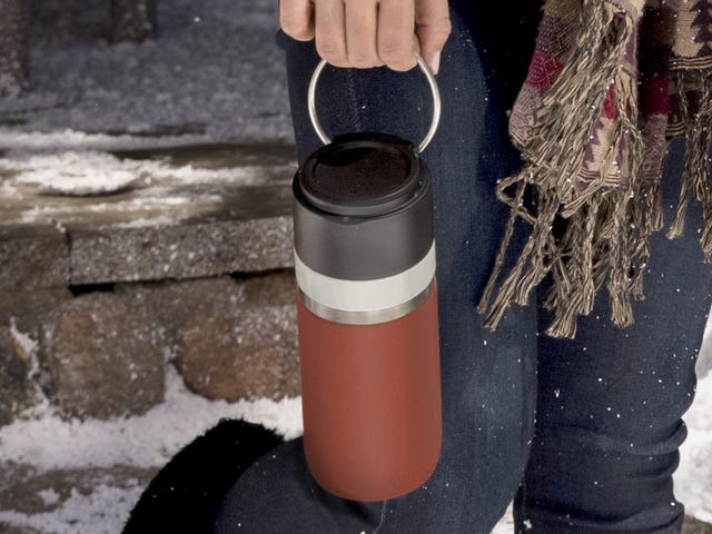 Finally, Ceramic-Lined Travel Mugs for the Stainless Steel-Averse