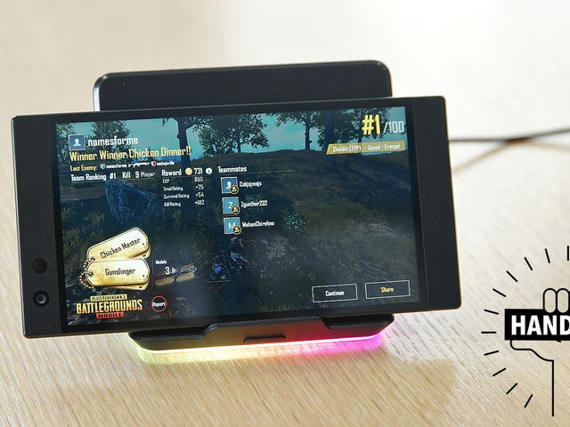 Razer Built the Phone Gamers Deserve (It Has RGB Lights)