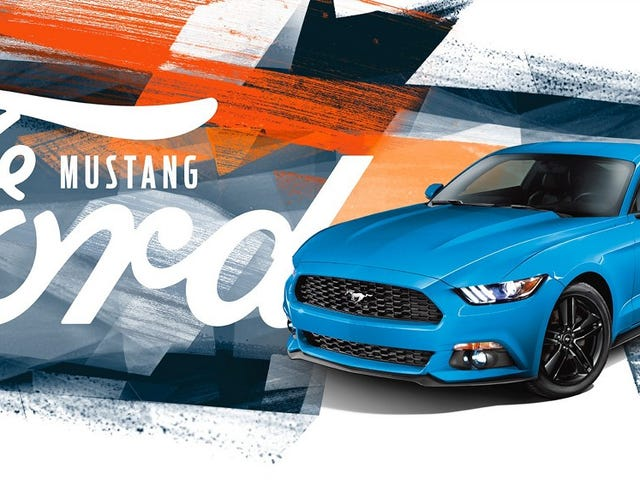 Fords Mustang Banners