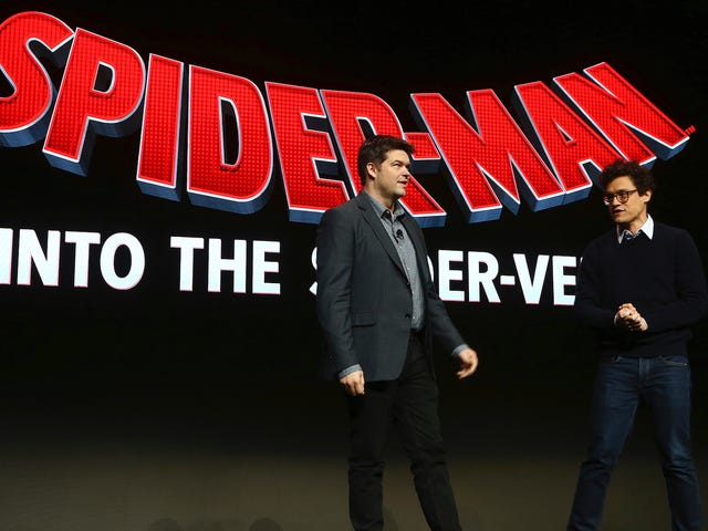 Producenterna av Spider-Man: Into the Spider-Vers arbetar i deras eget Marvel-serieunivers