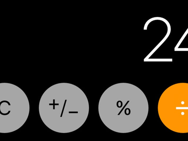 Don't Use the Calculator on iOS 11.1