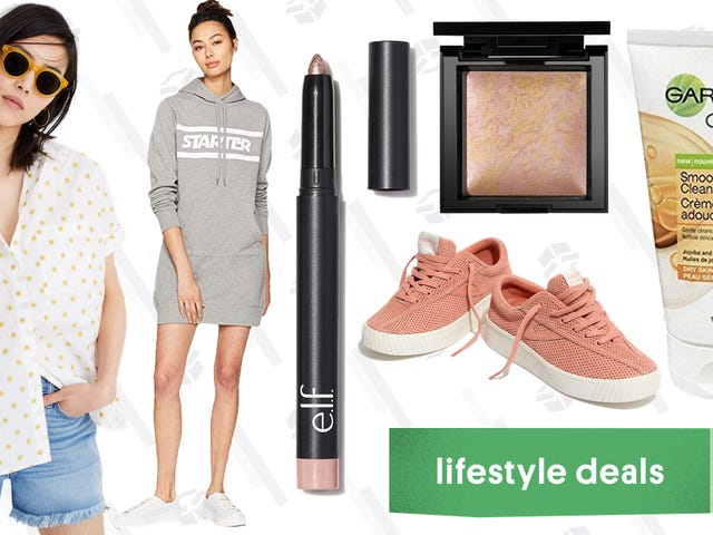 Wednesday's Best Lifestyle Deals: bareMinerals, Starter, e.l.f. Cosmetics, Madewell, and More