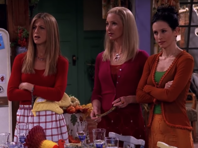 Celebrate Friendsgiving properly by watching Friends in the theater Thanksgiving weekend