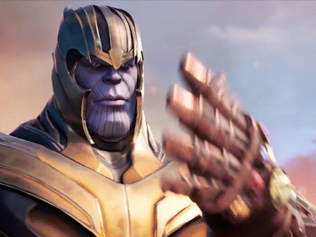 Thanos Kembali Dalam Fortnite 's Avengers: Endgame Event Avengers: Endgame , Dan He Got Company