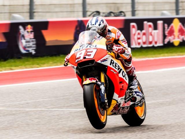 MotoGP's Márquez Not Interested In Sharing Austin