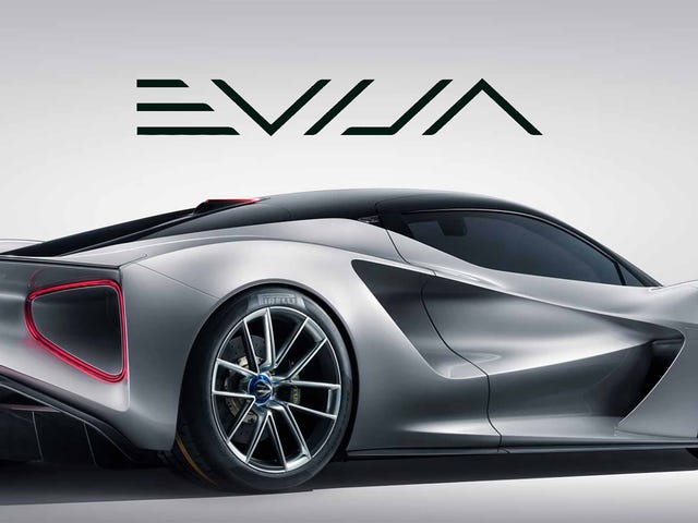 I missed out on the Lotus Evija hype
