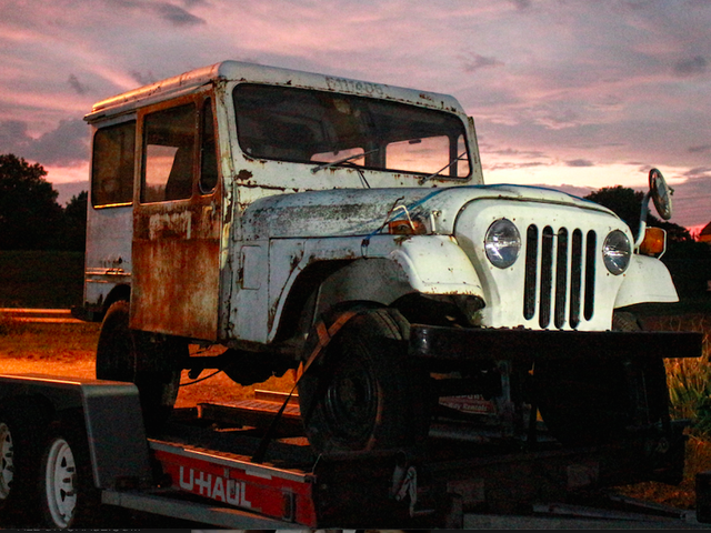 I Just Bought This $500 Postal Jeep Sight Unseen And Now It's My New Off-Road Project