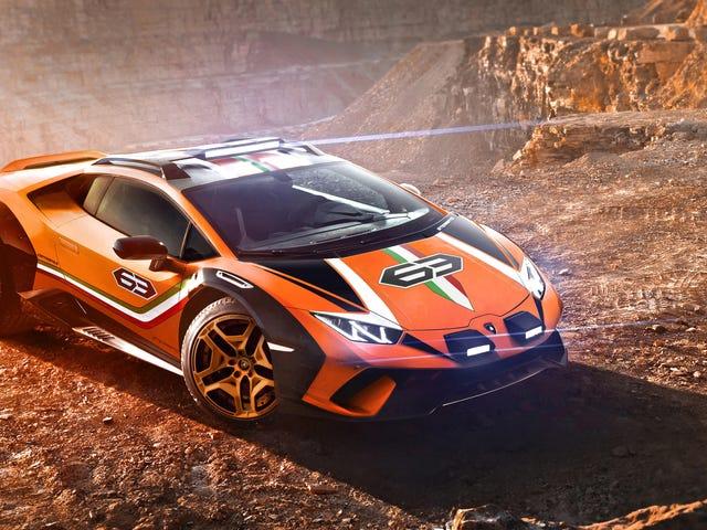 Lamborghini Sebenarnya Memandangkan Menunaikan Huracan Off-Jalan Liar Ke Pengeluaran